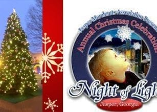 Night of Lights Celebration 12/6, Downtown Jasper & More!