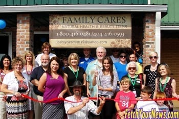 Chamber Holds Ribbon Cutting for Family Cares Health Beauty & Gifts
