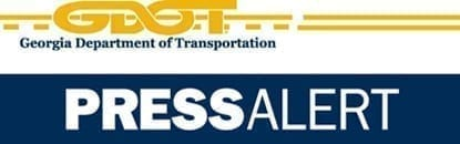 News Release from the GA DOT