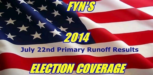 July 22nd Primary Runoff Election Results