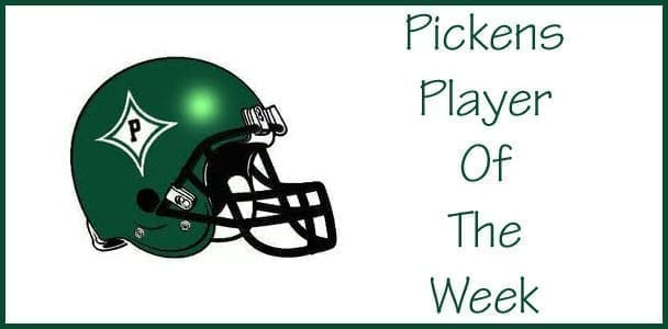 Pickens Player Of The Week: Colton Prather