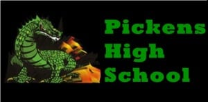 2013 Pickens Dragons Football Schedule